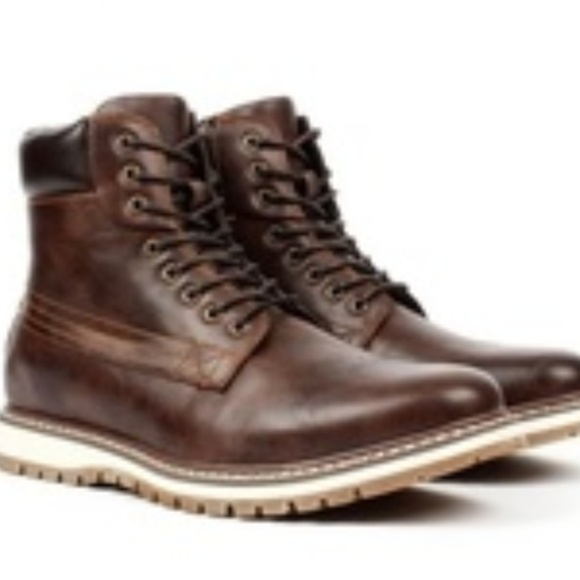 Harrison Mens Casual Round Toe Boots